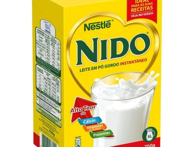 Nido 700gr 40″ Container