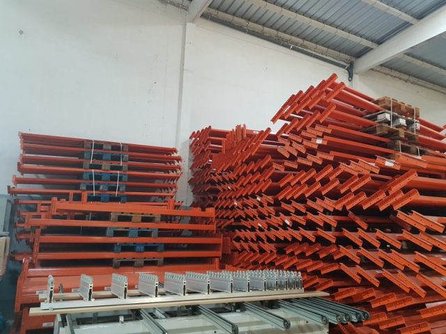 Large stock of Rack system