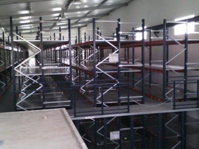 Special 3 Levels Racking System Stock